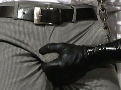 Nick Morettit is all Slicked Up and fucks Gianni Luca in metal restraints.